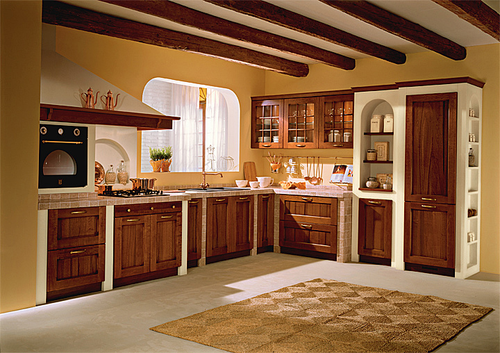 Cucine scavolini in finta muratura